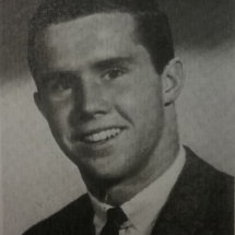 Tom's High School Graduation photo in 1964 at age 17.